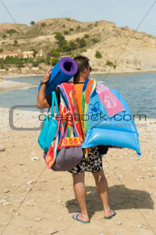 Beachgoer