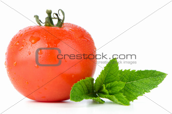Tomato and mint