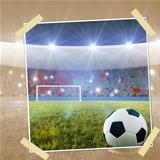 Soccer penalty kick snapshot
