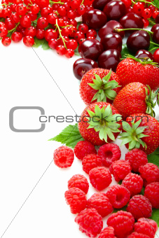 Mix of summer berries.