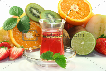 Fruit tea