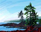 West Coast Landscape Painting