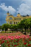 31 - roses of malaga town hall