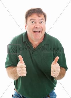 Goofy Thumbs Up Guy