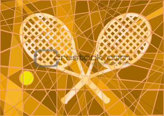 Clay court tennis
