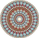 Paisley circle