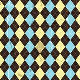 Grunge argyle background