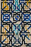 moorish pattern at alhambra