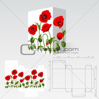 Carton template