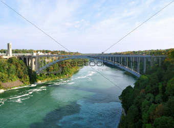 Rainbow Bridge - Niagara Falls, USA