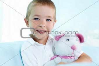 Blue-eyed cutie