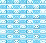 The design of envelope blue wallpaper background