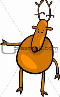 cartoon doodle of deer