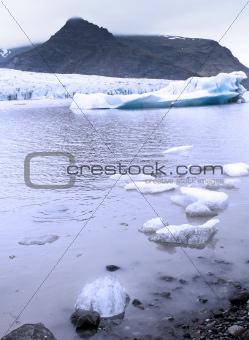 A glacier