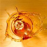 Splash of whiskey