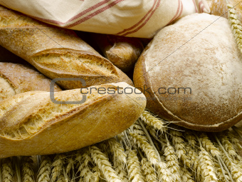 bread on wheat