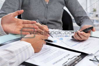 Discussion over agreement and data
