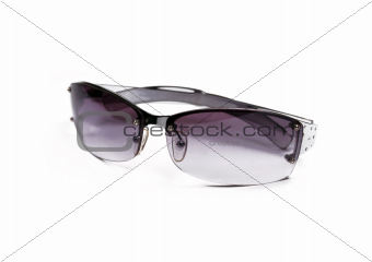 Sunglasses on white