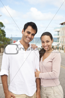 portrait of a hispanic couple
