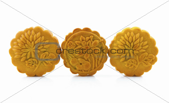Three mooncakes