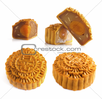 Mooncakes and ingredient