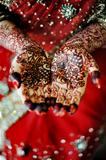 Indian bride&#39;s hand