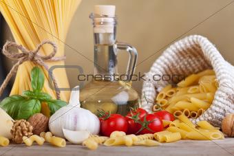 Preparing pasta with specific ingredients