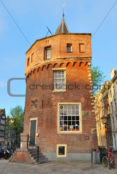 Amsterdam. Fortress Tower Schreierstoren