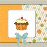 Birthday cupcake