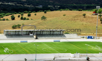 Football stadium at Portugal