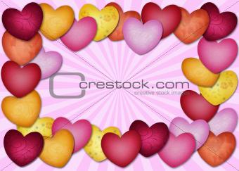 Heart lots of heart