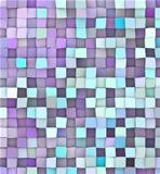 abstract 3d render backdrop in different shades of purple blue