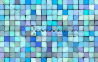 abstract tile pattern mixed blue purple surface backdrop