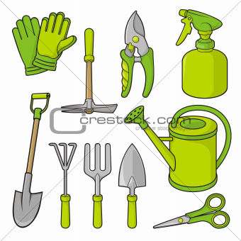 Gardening icons