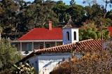 Old San Diego Town Roofs Cupola Casa de Estudillo California 