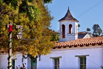 Casa de Estudillo Old San Diego Town Roof Cupola California