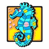 seahorse clip art