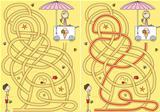 Ice-cream maze