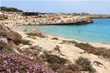 Lampedusa island, Mediterranean Sea