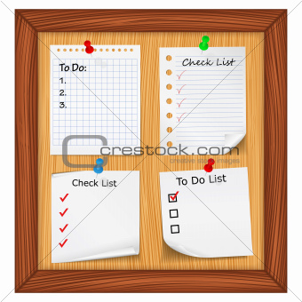 ToDo List and Checlist