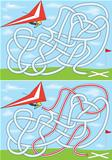 Hang gliding maze
