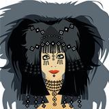 Girl Face Hair Esoteric