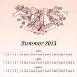 Calendar 2013  Summer