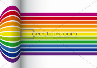 colorful stripes vector background