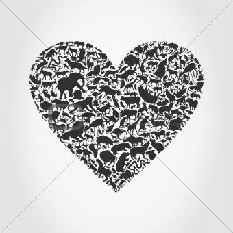 Heart animal3