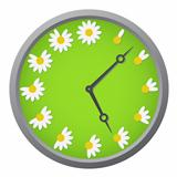 Daisy clock