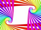 rainbow vector frame
