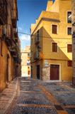 traditional old Spanish street