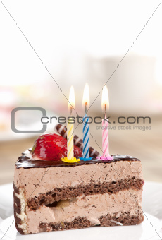 birthday chocolate cake