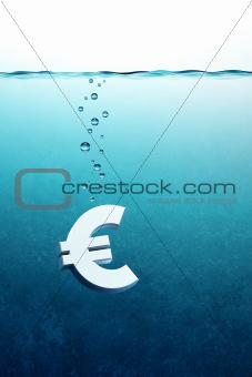 euro go down